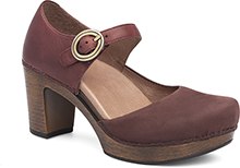 Dansko Outlet - Dorothy Wine Milled Nubuck