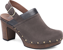 Dansko Outlet - Delle Grey Milled Nubuck