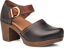 Dansko Outlet - Darlene Black Full Grain