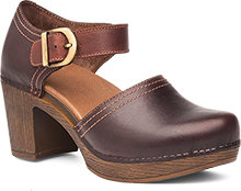 Dansko Outlet - Darlene Chocolate Full Grain