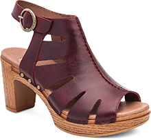 Dansko Outlet - Demetra Ruby Vintage Pull Up