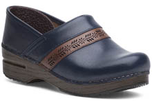 Dansko Outlet - Penny Navy Full Grain