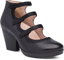 Dansko Outlet - Marlene Black Burnished Calf