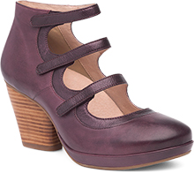 Dansko Outlet - Marlene Wine Burnished Calf