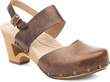 Dansko Outlet - Thea Teak Vintage Pull Up