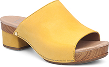Maci Yellow Milled Nubuck