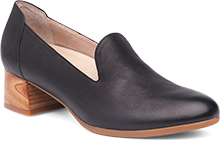 Dansko Outlet - Preston Black Burnished Nubuck