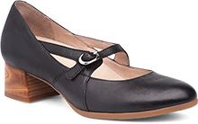 Dansko Outlet - Peyton Black Burnished Nubuck