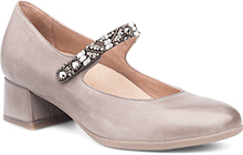 Dansko Outlet - Pearlina Stone Burnished Nubuck