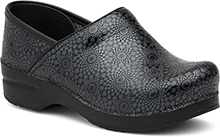 Dansko Outlet - Pro XP Black Medallion Embossed Patent