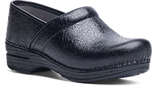 Dansko Outlet - Pro XP Black Floral Tooled