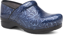 Dansko Outlet - Pro XP Navy Tooled Patent