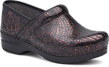 Dansko Outlet - Pro XP Burgundy Textured Patent