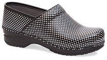 Dansko Outlet - Pro XP (Men) Black White Check Patent
