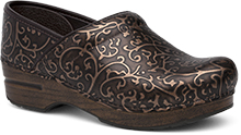 Dansko Outlet - Professional Bronze Tooled Patent