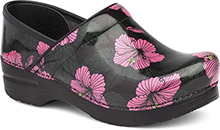 Dansko Outlet - Professional Pink Hibiscus Patent