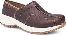 Dansko Outlet - Shaina Brown Tumbled Pull Up
