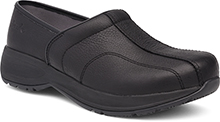 Dansko Outlet - Shaina Black Tumbled Pull Up