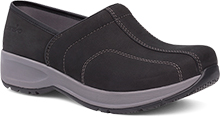 Dansko Outlet - Shaina Black Milled Nubuck