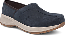 Dansko Outlet - Shaina Navy Milled Nubuck