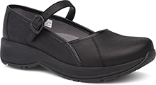 Dansko Outlet - Steffi Black Tumbled Pull Up