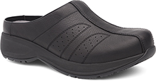 Dansko Outlet - Shelly Black Tumbled Pull Up