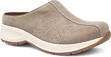 Dansko Outlet - Shelly Taupe Milled Nubuck