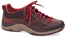 Dansko Outlet - Sabrina Brown Brick Suede