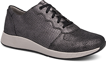 Dansko Outlet - Christina Black Metallic Suede