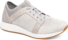 Dansko Outlet - Cozette Light Grey Suede