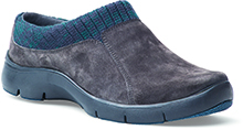 Dansko Outlet - Emily Charcoal Suede