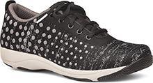 Dansko DotCom - Hanna Black/Grey Dot