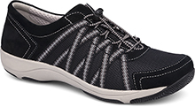 Dansko Outlet - Honor Black Suede