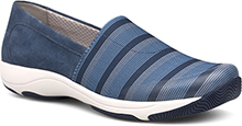 Dansko Outlet - Harriet Blue Stretch/Suede