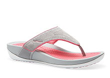 Dansko Outlet - Katy Grey Pink Suede