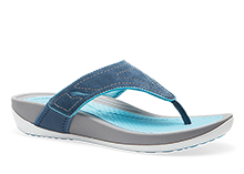 Dansko Outlet - Katy Navy Aqua Suede