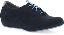 Dansko Outlet - Kimi Navy Milled Nubuck