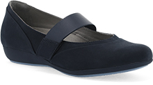 Dansko Outlet - Kendra Navy Milled Nubuck