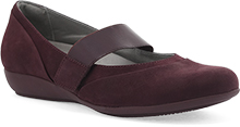 Dansko Outlet - Kendra Wine Milled Nubuck