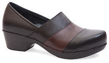 Dansko Outlet - Tenley Black Brown Nappa