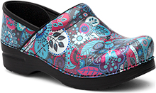 Dansko Outlet - Professional Grey Paisley Patent