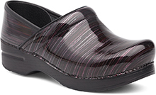 Dansko Outlet - Professional Wine Striped Patent