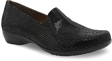 Dansko Outlet - Farah Black Lizard