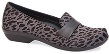 Dansko Outlet - Oksana Grey Cheetah Hair Calf