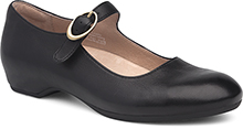 Dansko Outlet - Linette Black Milled Nappa