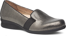 Dansko Outlet - Addy Metallic Lizard