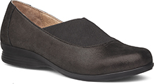 Dansko Outlet - Ann Black Metallic Suede