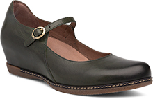 Dansko Outlet - Loralie Moss Burnished Calf