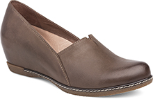 Dansko Outlet - Liliana Teak Burnished Nubuck