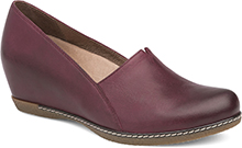 Liliana Wine Burnished Nubuck